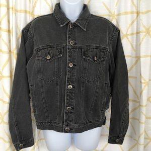 ARIZONA JEANS Vintage Dark Gray Denim Jacket